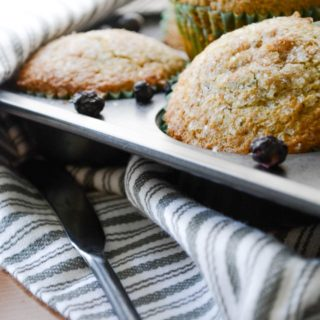 Brown Sugar Fruit Muffins